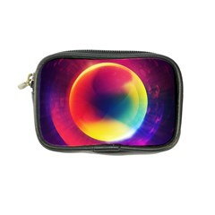 Colorful Glowing Coin Purse by Onesevenart