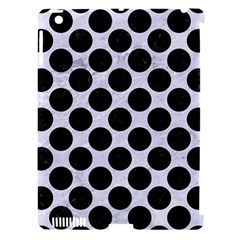 Circles2 Black Marble & White Marble (r) Apple Ipad 3/4 Hardshell Case (compatible With Smart Cover) by trendistuff