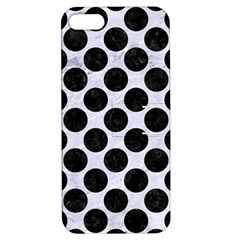 Circles2 Black Marble & White Marble (r) Apple Iphone 5 Hardshell Case With Stand by trendistuff