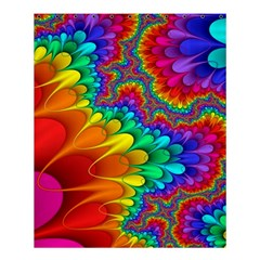 Colorful Trippy Shower Curtain 60  X 72  (medium)  by Onesevenart