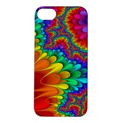 Colorful Trippy Apple Iphone 5s/ Se Hardshell Case by Onesevenart