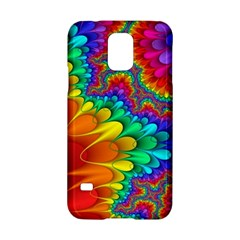Colorful Trippy Samsung Galaxy S5 Hardshell Case  by Onesevenart