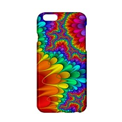 Colorful Trippy Apple Iphone 6/6s Hardshell Case by Onesevenart
