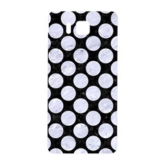 Circles2 Black Marble & White Marble Samsung Galaxy Alpha Hardshell Back Case by trendistuff