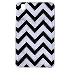 Chevron9 Black Marble & White Marble (r) Samsung Galaxy Tab Pro 8 4 Hardshell Case by trendistuff
