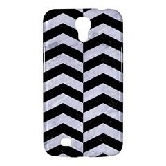 Chevron2 Black Marble & White Marble Samsung Galaxy Mega 6 3  I9200 Hardshell Case by trendistuff