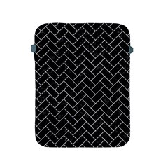 Brick2 Black Marble & White Marble Apple Ipad 2/3/4 Protective Soft Case by trendistuff