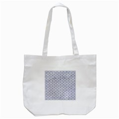 Brick1 Black Marble & White Marble (r) Tote Bag (white) by trendistuff