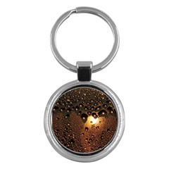 Condensation Abstract Key Chains (round)  by Onesevenart