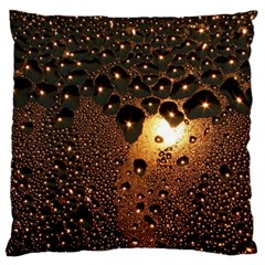 Condensation Abstract Large Cushion Case (two Sides) by Onesevenart