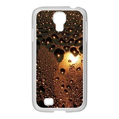 Condensation Abstract Samsung Galaxy S4 I9500/ I9505 Case (white) by Onesevenart