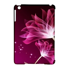 Drawing Flowers Lotus Apple Ipad Mini Hardshell Case (compatible With Smart Cover) by Onesevenart
