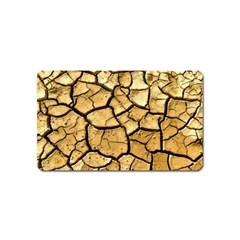 Dry Ground Magnet (name Card) by Onesevenart