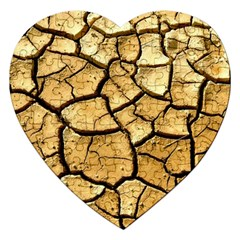 Dry Ground Jigsaw Puzzle (heart) by Onesevenart