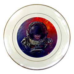 Eve Of Destruction Cgi 3d Sci Fi Space Porcelain Plates by Onesevenart