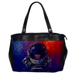Eve Of Destruction Cgi 3d Sci Fi Space Office Handbags by Onesevenart