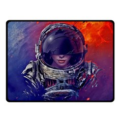 Eve Of Destruction Cgi 3d Sci Fi Space Fleece Blanket (small) by Onesevenart