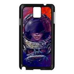 Eve Of Destruction Cgi 3d Sci Fi Space Samsung Galaxy Note 3 N9005 Case (black) by Onesevenart