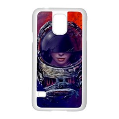 Eve Of Destruction Cgi 3d Sci Fi Space Samsung Galaxy S5 Case (white) by Onesevenart