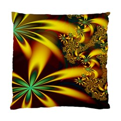 Floral Design Computer Digital Art Design Illustration Standard Cushion Case (one Side) by Onesevenart