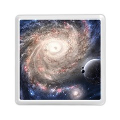 Galaxy Star Planet Memory Card Reader (square)  by Onesevenart