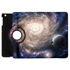 Galaxy Star Planet Apple Ipad Mini Flip 360 Case by Onesevenart