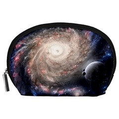 Galaxy Star Planet Accessory Pouches (large)  by Onesevenart