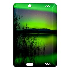Green Northern Lights Canada Amazon Kindle Fire Hd (2013) Hardshell Case by Onesevenart