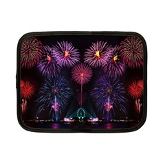 Happy New Year New Years Eve Fireworks In Australia Netbook Case (small)  by Onesevenart