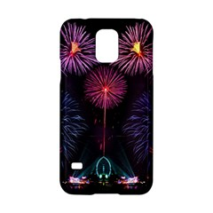 Happy New Year New Years Eve Fireworks In Australia Samsung Galaxy S5 Hardshell Case  by Onesevenart