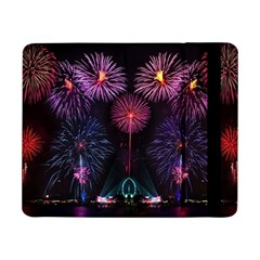Happy New Year New Years Eve Fireworks In Australia Samsung Galaxy Tab Pro 8 4  Flip Case by Onesevenart