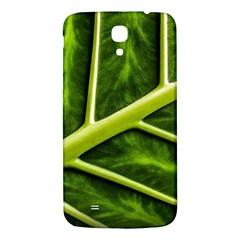 Leaf Dark Green Samsung Galaxy Mega I9200 Hardshell Back Case by Onesevenart