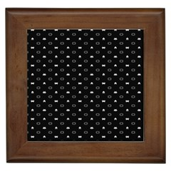 Space Black Framed Tiles by AnjaniArt