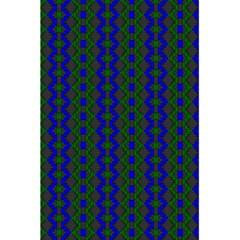 Split Diamond Blue Green Woven Fabric 5 5  X 8 5  Notebooks by AnjaniArt