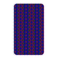 Split Diamond Blue Purple Woven Fabric Memory Card Reader by AnjaniArt