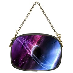Space Pelanet Saturn Galaxy Chain Purses (two Sides)  by AnjaniArt