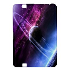Space Pelanet Saturn Galaxy Kindle Fire Hd 8 9  by AnjaniArt