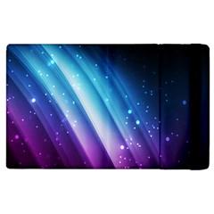 Space Purple Blue Apple Ipad 3/4 Flip Case by AnjaniArt