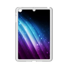 Space Purple Blue Ipad Mini 2 Enamel Coated Cases by AnjaniArt