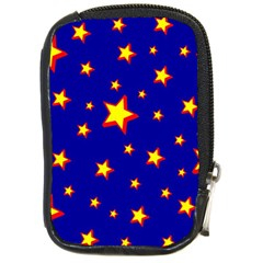 Star Blue Sky Yellow Compact Camera Cases by AnjaniArt