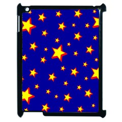 Star Blue Sky Yellow Apple Ipad 2 Case (black) by AnjaniArt