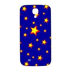 Star Blue Sky Yellow Samsung Galaxy S4 I9500/i9505  Hardshell Back Case by AnjaniArt