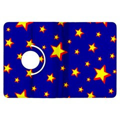 Star Blue Sky Yellow Kindle Fire Hdx Flip 360 Case by AnjaniArt