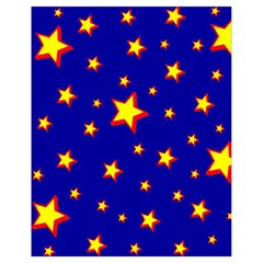 Star Blue Sky Yellow Drawstring Bag (small)