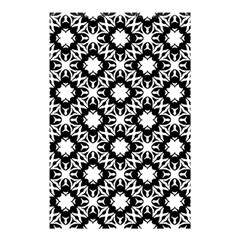 Star Flower Shower Curtain 48  X 72  (small)  by AnjaniArt