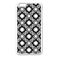 Star Flower Apple Iphone 6 Plus/6s Plus Enamel White Case by AnjaniArt