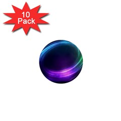 Spaces Ring 1  Mini Magnet (10 Pack)  by AnjaniArt