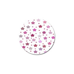 Star Purple Golf Ball Marker (4 Pack) by AnjaniArt