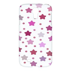 Star Purple Samsung Galaxy S4 I9500/i9505 Hardshell Case by AnjaniArt