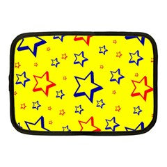 Star Yellow Red Blue Netbook Case (medium)  by AnjaniArt